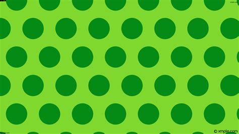 Wallpaper lime green dots hexagon polka #7fd82e #038b15