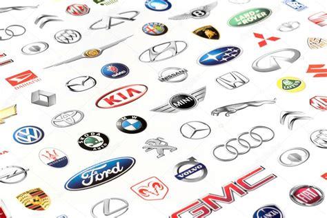 Auto Manufacturers Logos by Set Of Car Manufacturers Logos Stock Editorial