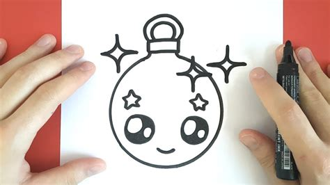 how to draw christmas balls how to draw a ornament and easy