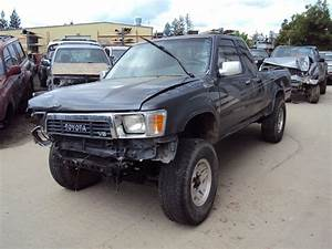 1991 Toyota Pickup Parts  1991 Toyota Pickup 4x4 22re W
