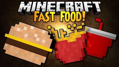 mod鑞es cuisine minecraft mod showcase fast food