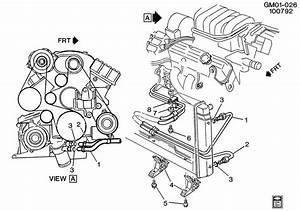 Buick Lesabre Bracket  Engine Oil Cooler  Bracket  Eng Oil