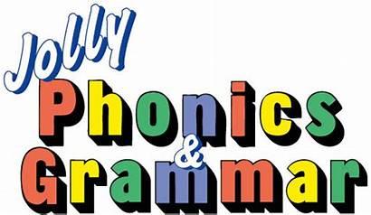 Phonics Jolly Clipart Grammar Children Letter Sounds