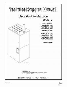 Icp C9mpv075f12b1 User Manual 90  2 Stage  U0026 Variable Speed