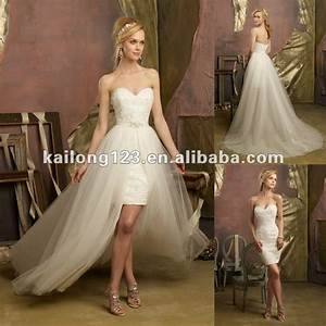 aliexpresscom buy lovely sweetheartt beaded lace short With short designer wedding dresses