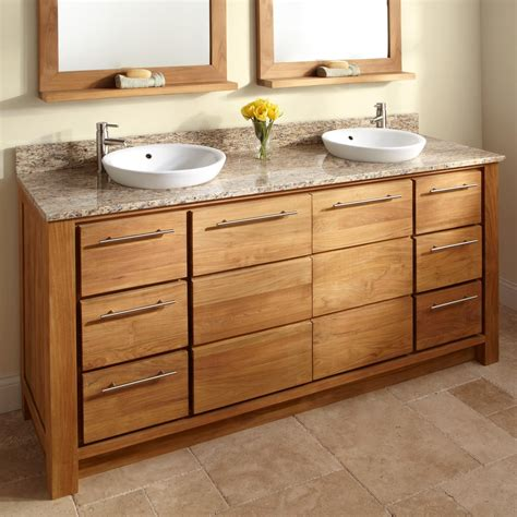bathroom cupboard ideas wood bathroom cabinet and granite vanity tops with vessel sinks decofurnish