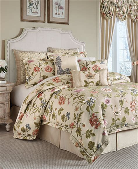 comforter sets at macy s croscill 4 pc bedding collection bedding
