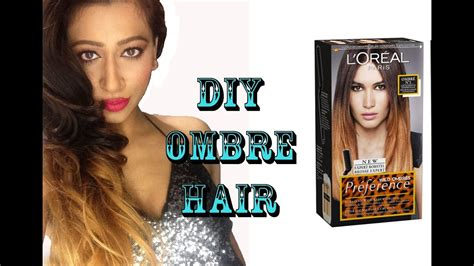 Diy Ombre Hair Colour Tutorial (l'oreal Preference Wild