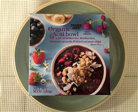 trader joes organic acai bowl review freezer meal frenzy