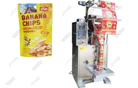 automatic plantain chips packing machine  banana chips