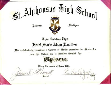 High School Diploma Templates For Free by High School Diploma Template Cyberuse