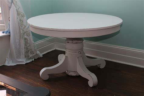 white pedestal kitchen table custom order antique dining table white distressed shabby chic