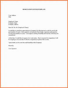 10+ resignation letter 2 week notice with vacation ...