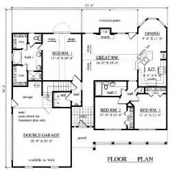 1500 sq ft house plans house plans home builder prescott sons construction