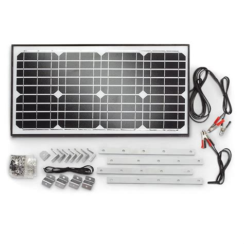 elektra monocrystalline solar power panel 30 watt 643890 solar panels kits at sportsman s