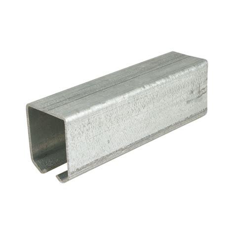 Stahl Verzinkt by Laufschiene F 252 R Freitragende Tore L 228 Nge 3000 Mm Stahl