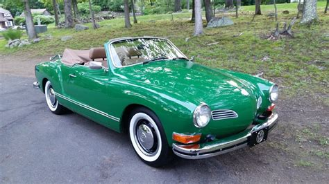 1964 poppy red vw beetle convertible excellent condition. Classic 1973 Karmann Ghia Convertible Show Driver FOR SALE ...