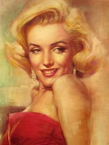 Portrait de Marilyn Monroe images