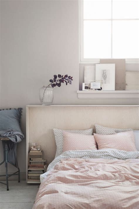 Light Pink And Grey Bedroom  Nautical Inspired Bedrooms