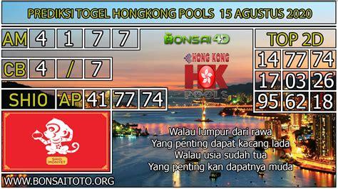 prediksi togel hongkong pools  agustus
