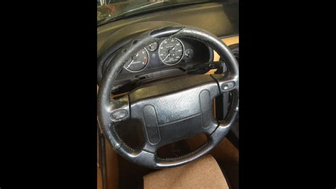 How To Restore Worn Leather by How To Repair Your Leather Worn Torn Steering Wheel At No