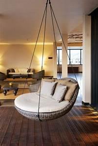Fauteuil Suspendu Exterieur : 49 photos de fauteuils suspendus pour votre int rieur ~ Dode.kayakingforconservation.com Idées de Décoration