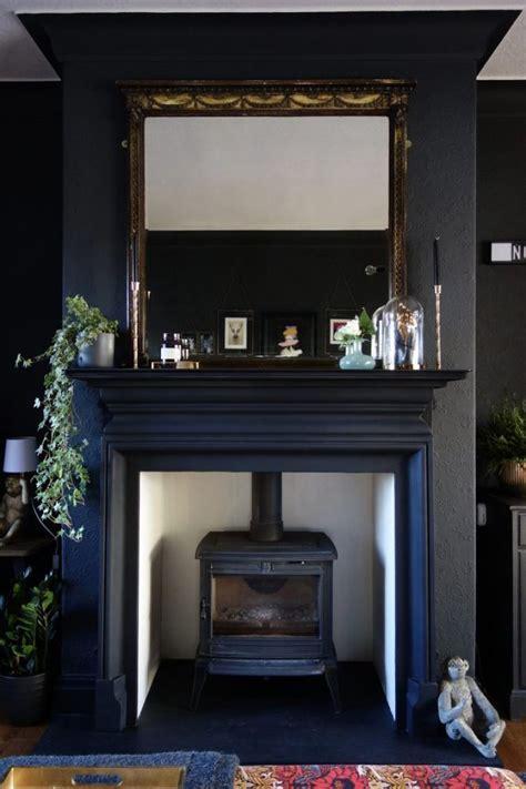 Black Fireplace - best 25 black fireplace ideas on black brick