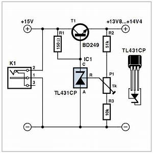 how to make low drop series regulator circuit using a With datasheet application note explained electronic circuit projects