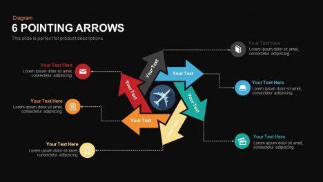 step creative circular diagram powerpoint keynote