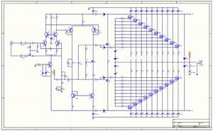 Component  Collection Scheme Audio Power Amplifier High