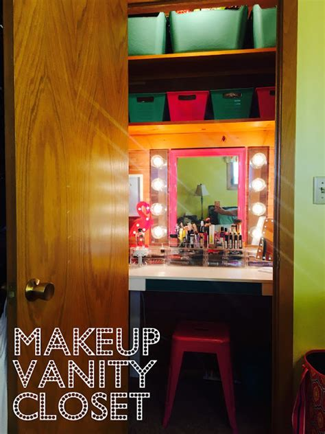 the farmer and the southern makeup vanity closet