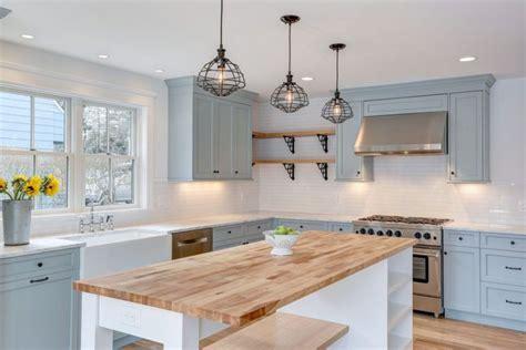 Ideas For Above Kitchen Cabinet Space - 26 farmhouse kitchen ideas decor design pictures designing idea
