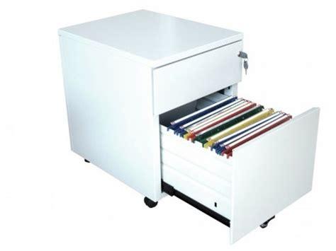 bureau avec caisson dossier suspendu caisson métallique 2 tiroirs avec support dossiers