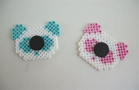 kawaii perler bead creations  pegboard bead magnet