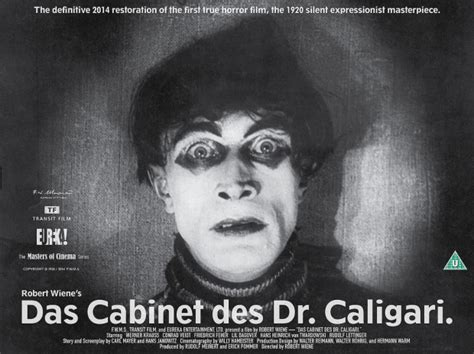 the cabinet of dr caligari celebrates theatrical