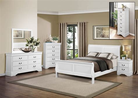 homelegance mayville bedroom set white  bedroom set