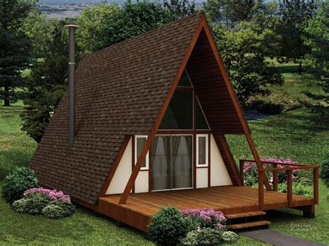 Beautiful Modified A Frame House by 30 Amazing Tiny A Frame Houses That You Ll Actually Want
