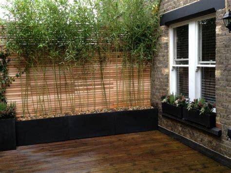 transformer garage en cuisine cloture terrasse brise vue balcon ideeco