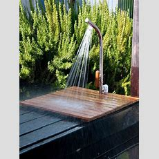 Simple Outdoor Showers Hgtv