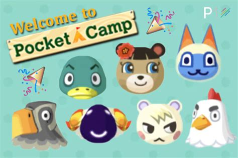 animal crossing pocket camp update guide   villagers