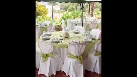 decoration salle de mariage decoration de salle de mariage blanc et vert