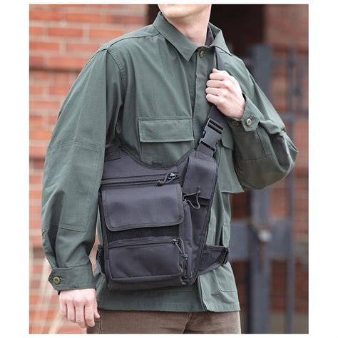 voodoo tactical tablet sling bag  military style