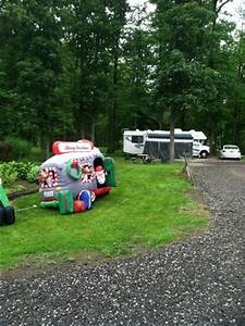 Fun Christmas in July decorations Picture of Country