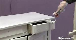 Patiner Un Meuble En Blanc : patiner un meuble tutoriel vid o comment patiner un meuble ~ Dailycaller-alerts.com Idées de Décoration