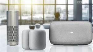 Google Home Oder Amazon Echo : google home max vs apple homepod vs amazon echo plus vergleich computer bild ~ Frokenaadalensverden.com Haus und Dekorationen