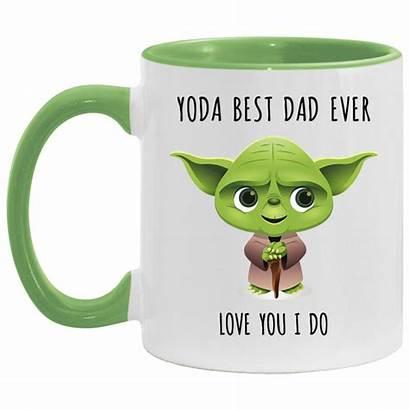 Yoda Dad Mug Coffee Mugs Funny Gifts