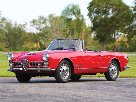 Alfa Romeo 2000 Spider by Rm Sotheby S 1959 Alfa Romeo 2000 Spider By Touring