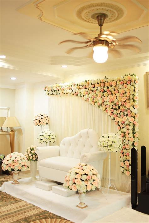 Background Decorations by The Partial Flower Background Dress Pasillos De