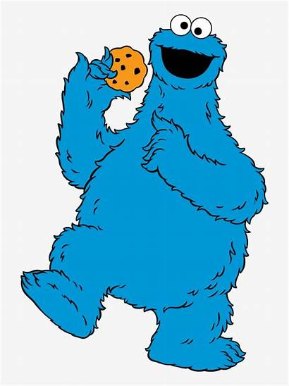 Cookie Monster Clipart Cartoon Clip Printable Transparent
