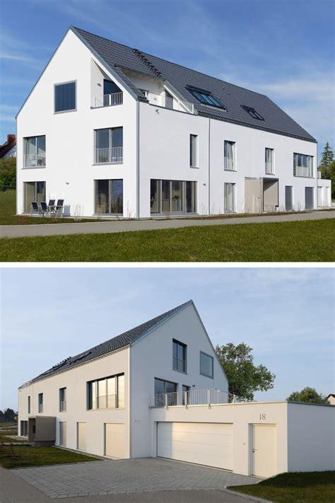 Modernes Mehrfamilienhaus Mit Satteldach  Haus Schindele